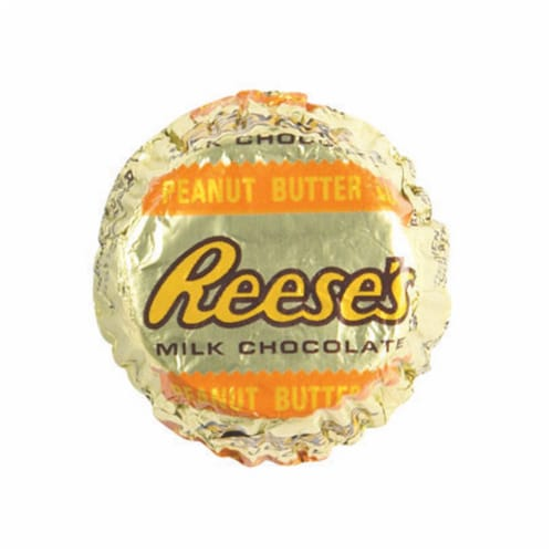 Reese's Milk Chocolate Peanut Butter Chocolate Candies 0.31 oz. - Case Of: 1 Perspective: front