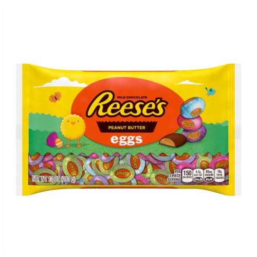Reese's Peanut Butter Eggs Perspective: front
