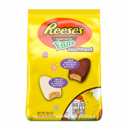 REESE'S Easter Peanut Butter Eggs Assortment Perspective: front