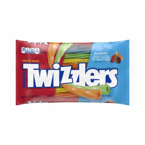 Twizzlers Twist Rainbow Licorice Straws Perspective: front