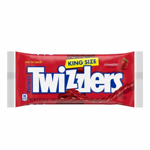 Twizzlers King Size Strawberry Twists Perspective: front