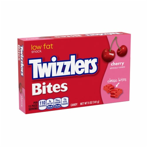 Twizzlers Cherry Bites Big Box Perspective: front