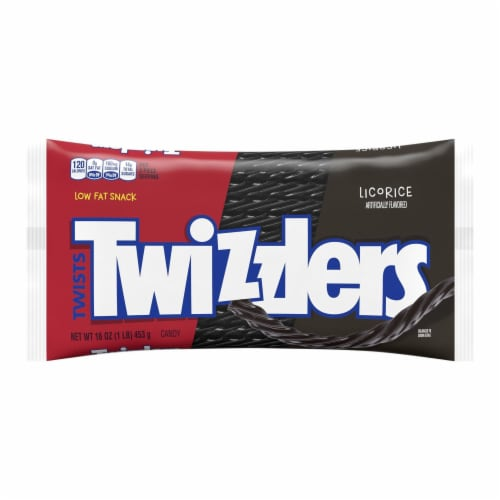 Twizzlers Licorice Twists Candy Perspective: front