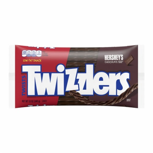 Twizzlers Chocolate Twists Perspective: front