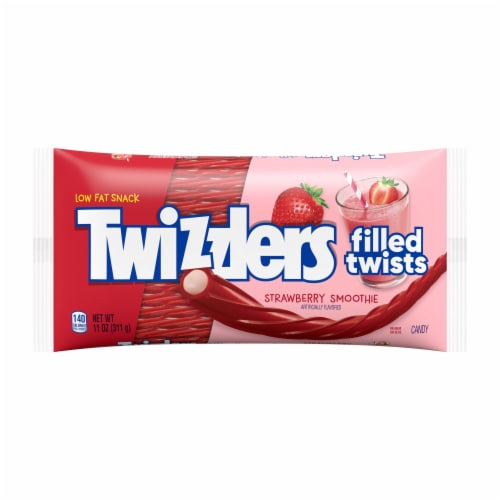 Twizzlers Strawberry Smoothie Filled Twists Perspective: front