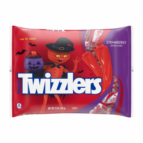Twizzlers Strawberry Snack Size Twists Perspective: front