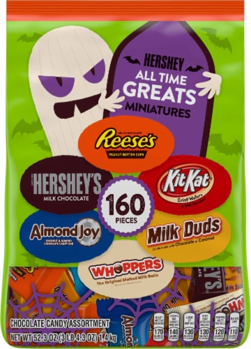Hershey's All Time Greats Miniatures Candy Assortment Perspective: front
