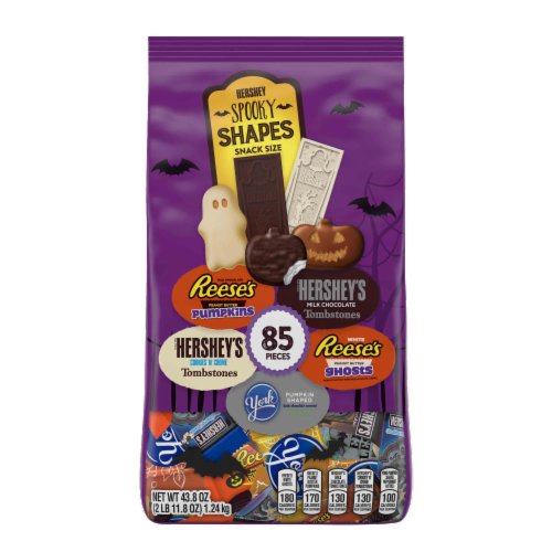 Hershey Spooky Shapes Snack Size Candy Assortment Perspective: front