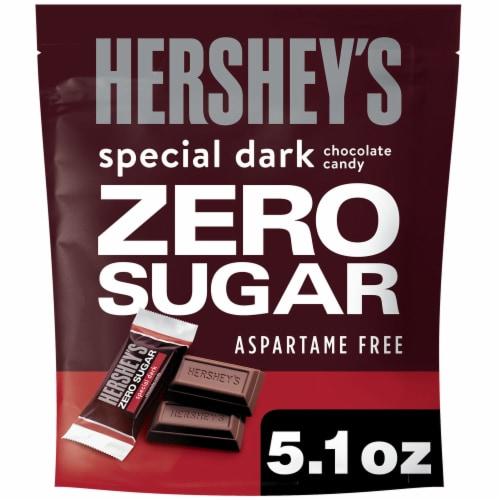 Hershey's Zero Sugar Special Dark Chocolate Perspective: front