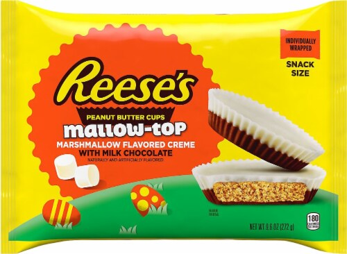Reese's Marshmallow Top Peanut Butter Cups Perspective: front