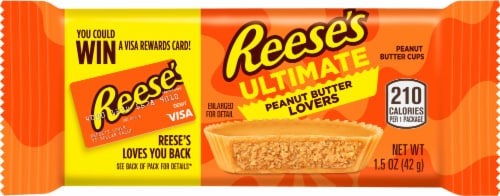 Reese's Ultimate Peanut Butter Lovers Peanut Butter Cups Perspective: front