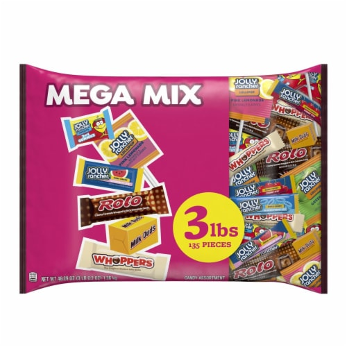 Hershey's Mega Mix Candy Assortment Perspective: front