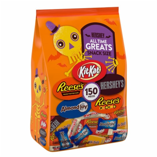 Hershey's All Time Greats Candy Assortment Snack Size Perspective: front