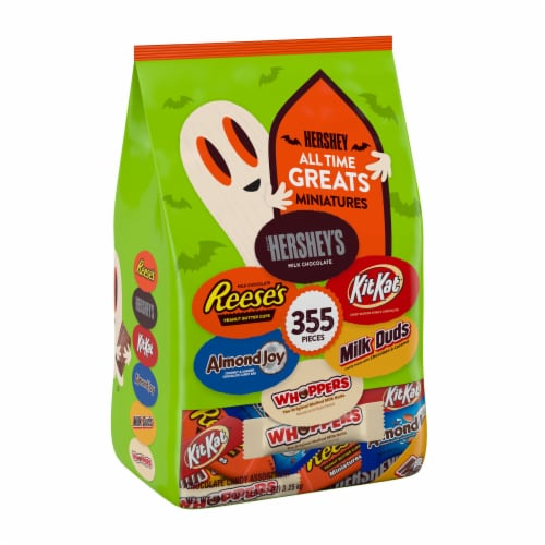 Hershey's All Time Greats Miniatures Chocolate Candy Assortment Perspective: front