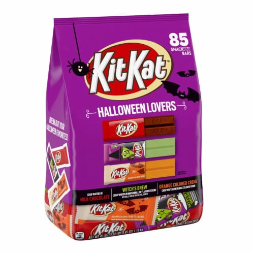 Kit Kat Halloween Lovers Candy Assortment Snack Size Perspective: front