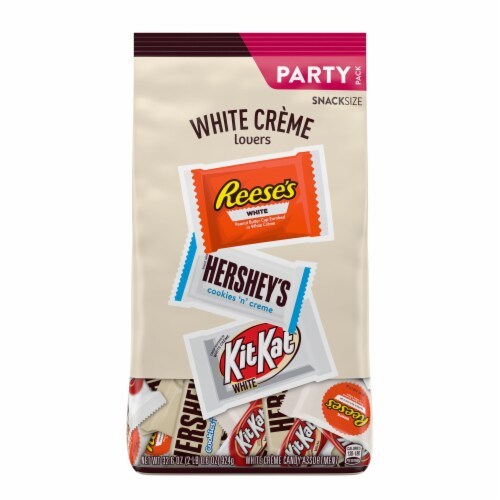 Hershey's All Time Greats White Creme Lovers Snack Size Candy Party Pack Perspective: front