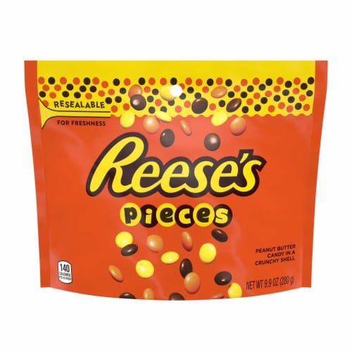 Reese's Pieces Pouch Perspective: front