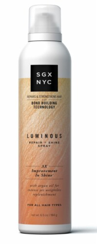 SGX NYC Luminous Repair + Shine Hair Spray Perspective: front