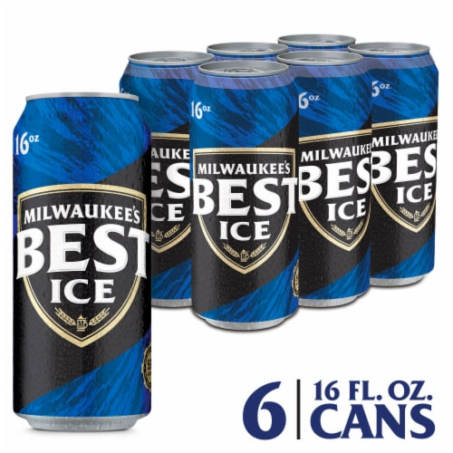 Milwaukee's Best Ice American Lager Beer Perspective: front