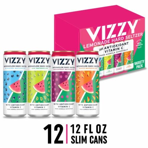 Vizzy™ Watermelon Hard Seltzer Perspective: front
