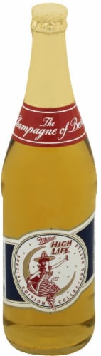 Miller High Life American Lager Beer Perspective: front