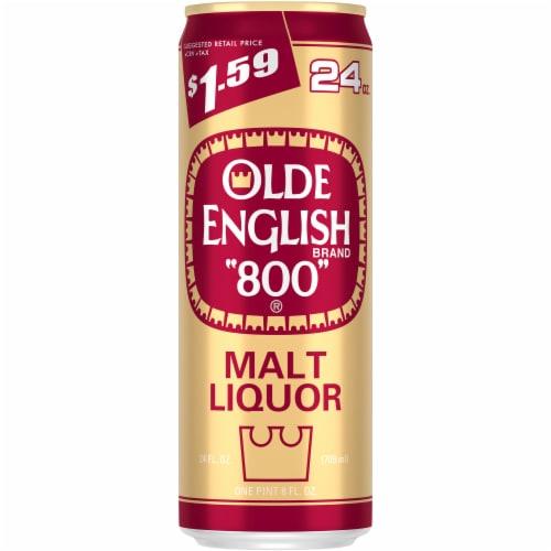 Olde English 800 Malt Liquor Perspective: front
