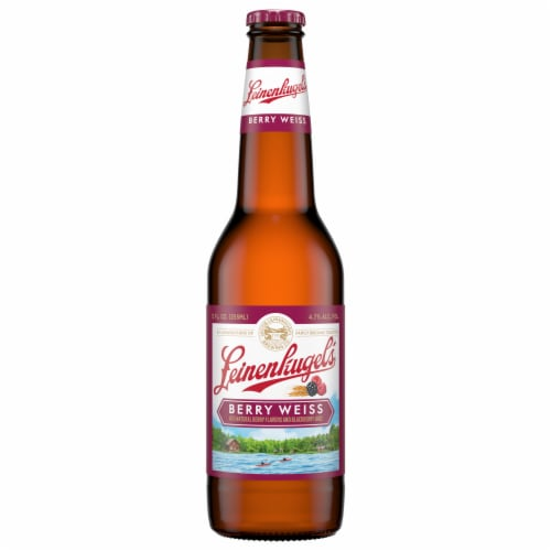 Leinenkugel's Berry Weiss Beer Perspective: front
