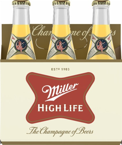 Miller High Life Beer Perspective: front