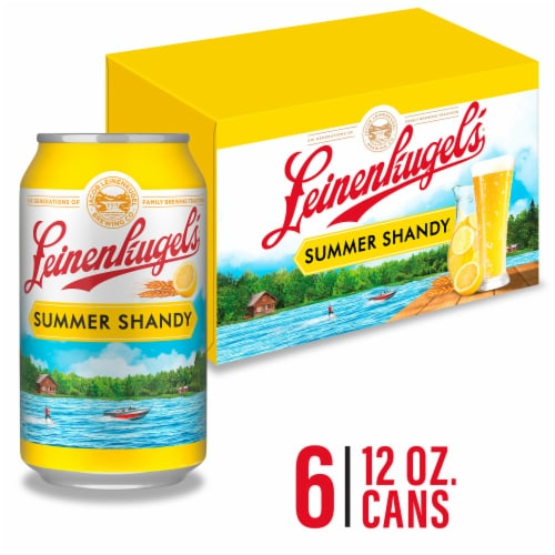 Leinenkugel's Summer Shandy Weiss Beer Perspective: front