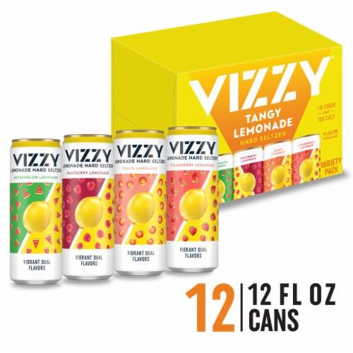 Vizzy™ Lemonade Hard Seltzer Variety Pack Perspective: front