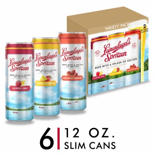 Leinenkugel's Spritzen Beer Variety Pack Perspective: front
