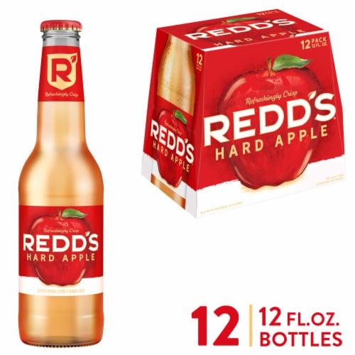 Redd's Apple Ale Beer Perspective: front