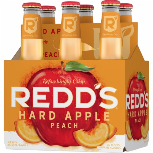 Redd's Peach Ale Beer Perspective: front