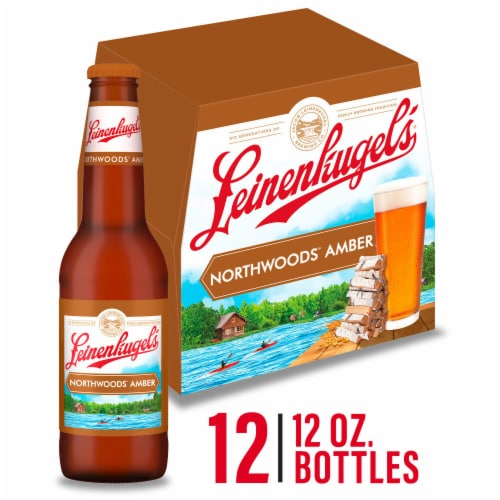 Leinenkugel's Northwoods Lager Beer Perspective: front