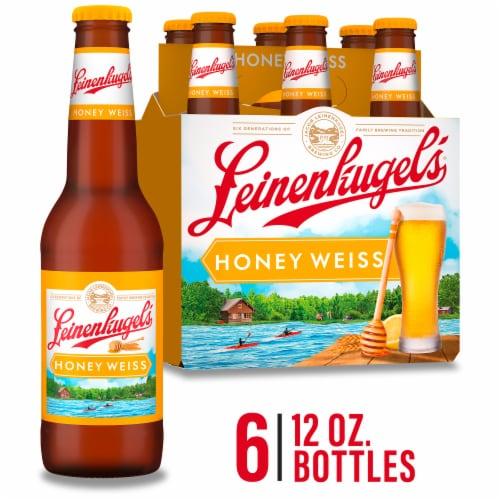 Leinenkugel's Honey Weiss Lager Beer Perspective: front