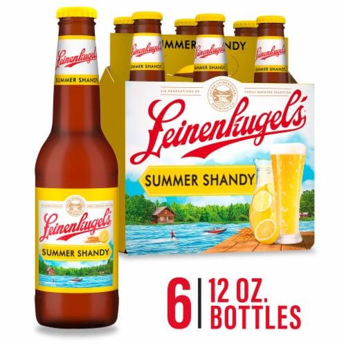 Leinenkugels Summer Shandy Weiss Beer Perspective: front