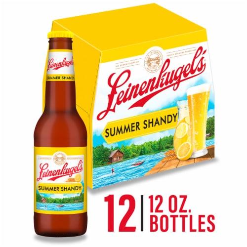 Leinenkugels Snowdrift Vanilla Porter Craft Beer Perspective: front