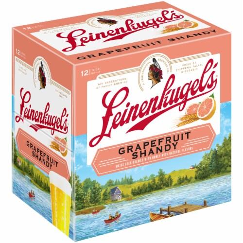 Leinenkugel's Grapefruit Shandy Beer 12 Count Perspective: front