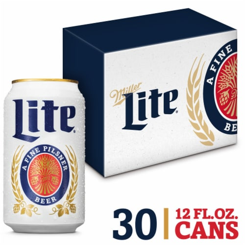 Miller Lite American Lager Beer Perspective: front
