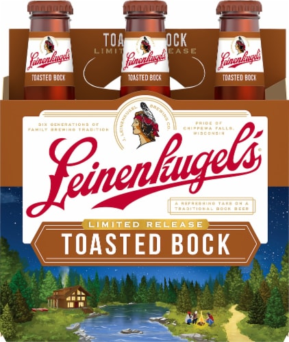 Leinenkugels Toasted Bock Craft Beer Perspective: front