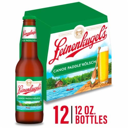 Leinenkugel's Canoe Paddle Kolsch Style Beer Perspective: front
