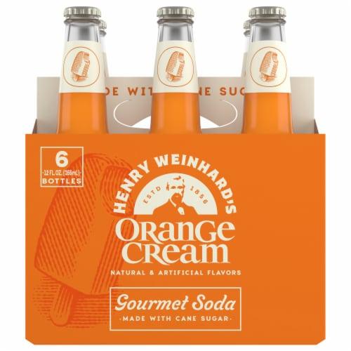 Henry Weinhard's Orange Cream Soda Perspective: front