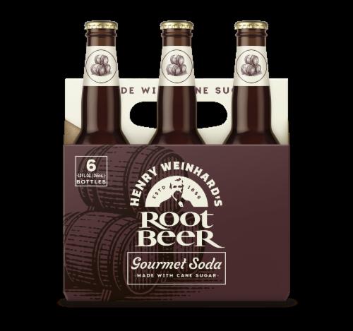 Henry Weinhard's Root Beer Perspective: front