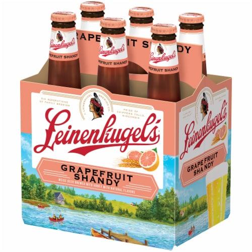 Leinenkugel's Grapefruit Shandy Beer 6 Count Perspective: front