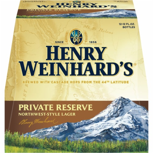 Henry Weinhard's Private Reserve Northwest-Style Lager Perspective: front