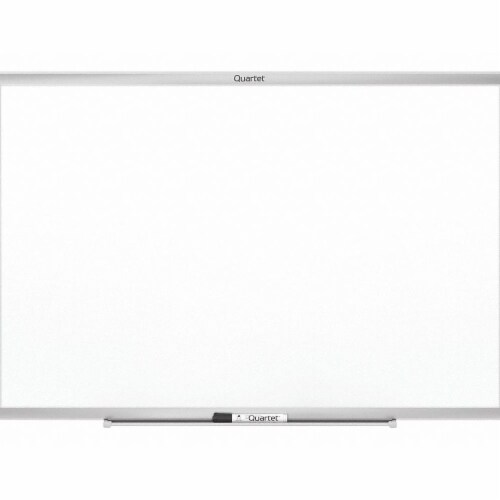 Quartet Classic Series Nano-Clean Dry Erase Board, 72 X 48, Silver Frame SM537 Perspective: front