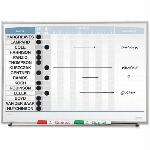 Quartet Matrix Magnetic Board 33704 Perspective: front