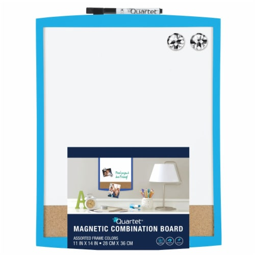 Quartet Magnetic Combination Board - Assorted Perspective: front