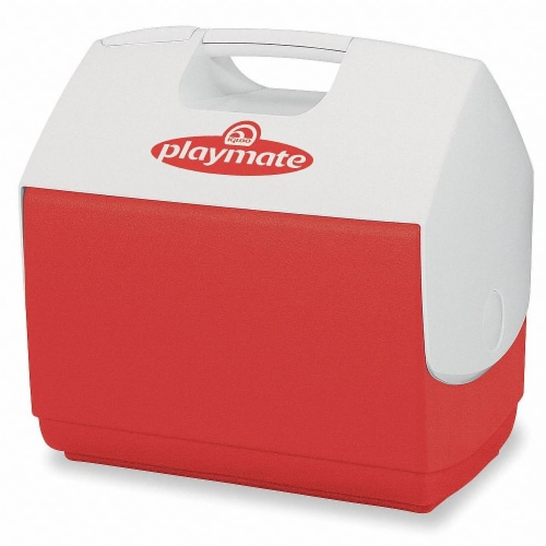 Igloo Playmate Pal Cooler 7 qt. Red - Case Of: 1; Perspective: front