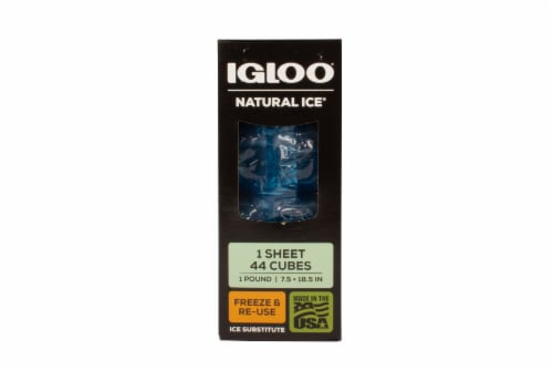 Igloo Maxcold Natural Ice 44 Cube Ice Substitute Sheet - Blue Perspective: front